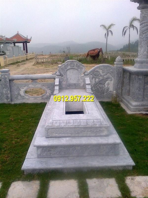 Hình ảnh mộ bành đá kích thước chuẩn phong thuỷ