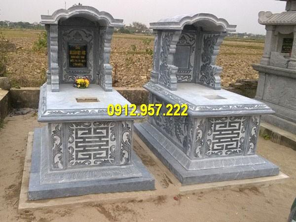 Tổng hợp hình ảnh ngôi mộ đá khối đẹp nhất hiện nay