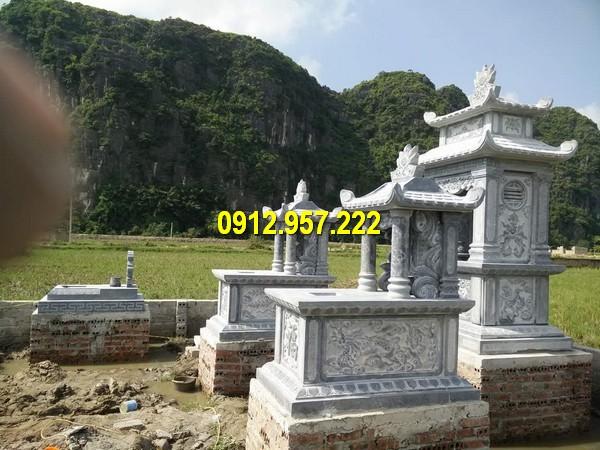 Mẫu lăng mộ đá một mái đẹp nhất Việt Nam