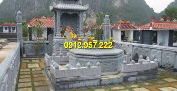 Khu lăng mộ đá xanh đẹp nhất Việt Nam