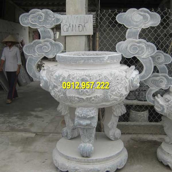 Bán lư hương bằng đá mỹ nghệ ở Hà Tĩnh