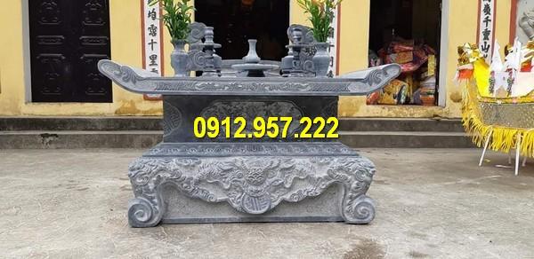 Mẫu bàn thờ thờ ngoài trời đặt tại các công trình tâm linh