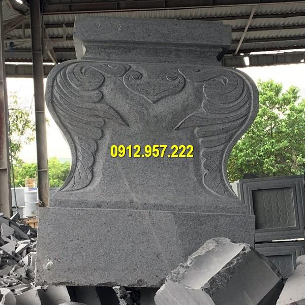 50+ Mẫu chân tảng đá đẹp, chân cột đá đẹp nhất Việt Nam
