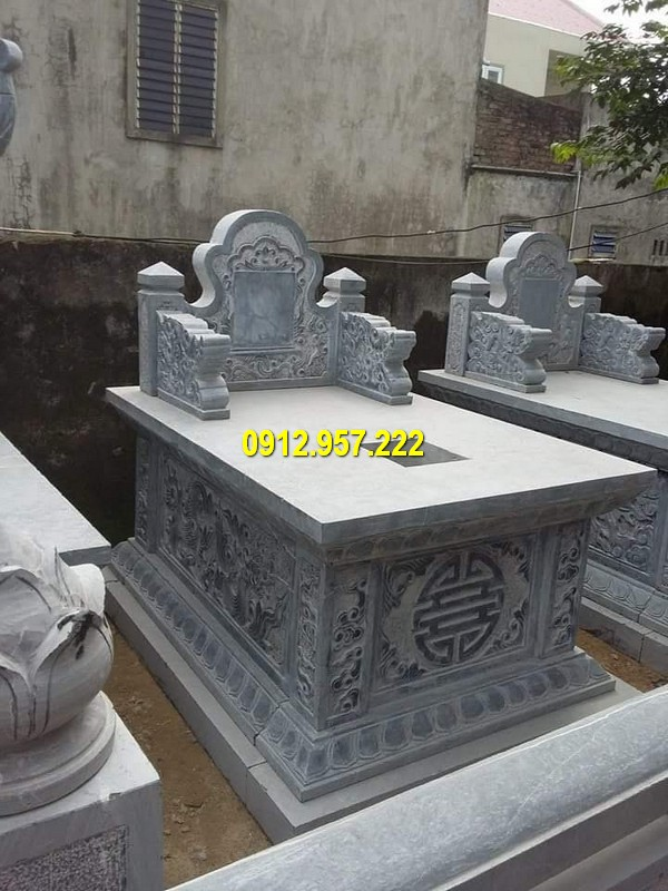 Mẫu mộ tam sơn đơn giản mà đẹp