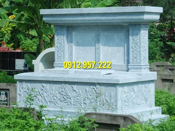 Mộ đôi đá mỹ nghệ Ninh Bình chuẩn phong thuỷ