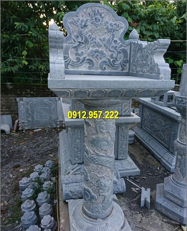 Mẫu thiết kế bàn thờ thiên hoa văn tinh tế