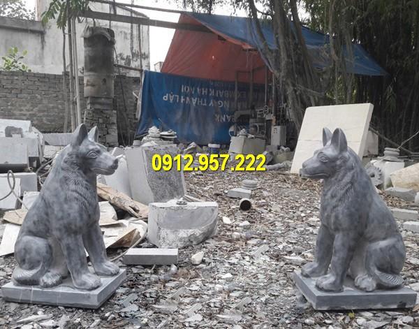 Cặp chó đá phong thuỷ chất lượng cao