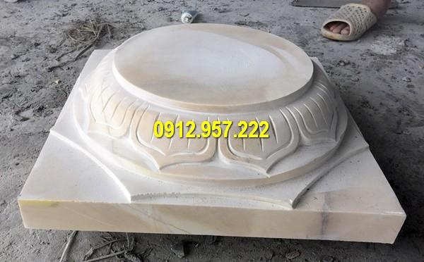 Thi công lắp đặt bán mẫu đá kê cột nhà tại Đồng Nai
