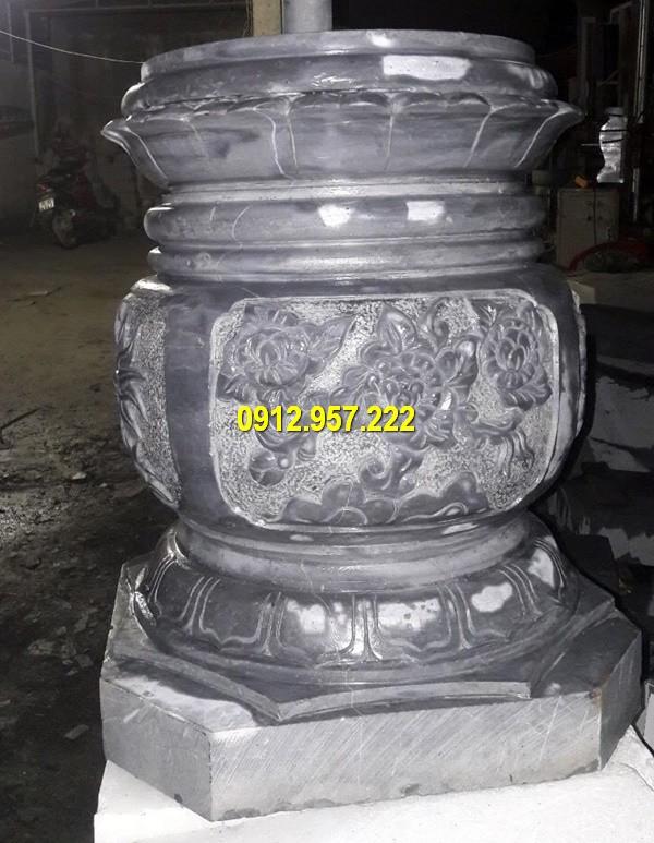Thi công lắp đặt bán mẫu đá kê cột gỗ ở Tây Ninh