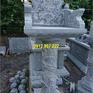 Cây hương đá ngoài trời - Mẫu cây hương nghĩa trang đá mỹ nghệ đẹp
