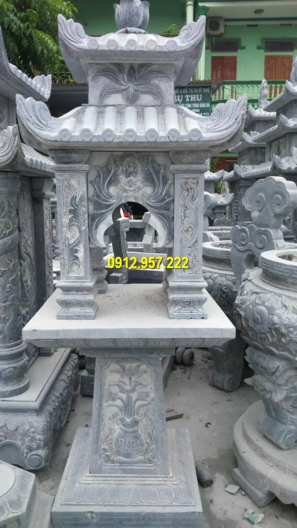 Đá mỹ nghệ Thái Vinh thi công lắp đặt bán cây hương đá ngoài trời tại miền Bắc