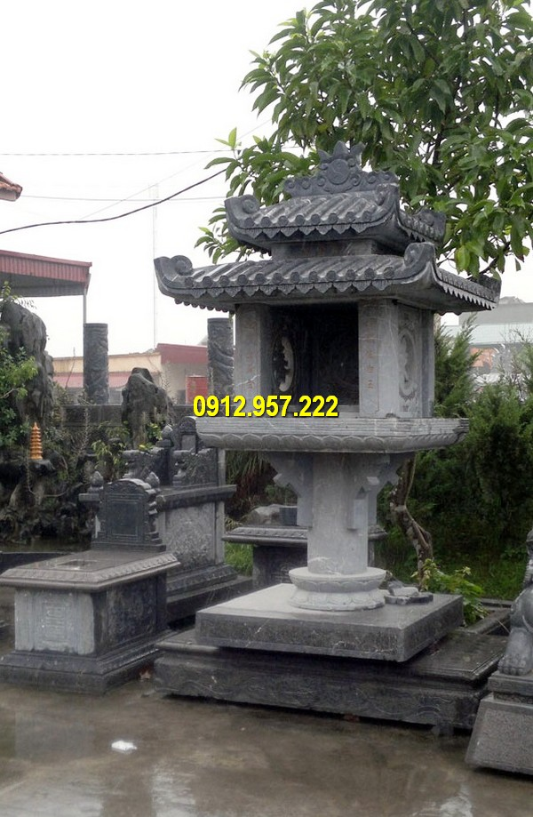 Các sản phẩm bàn thờ thiên được chế tác bằng đá tự nhiên có tuổi thọ lên đến hàng trăm năm