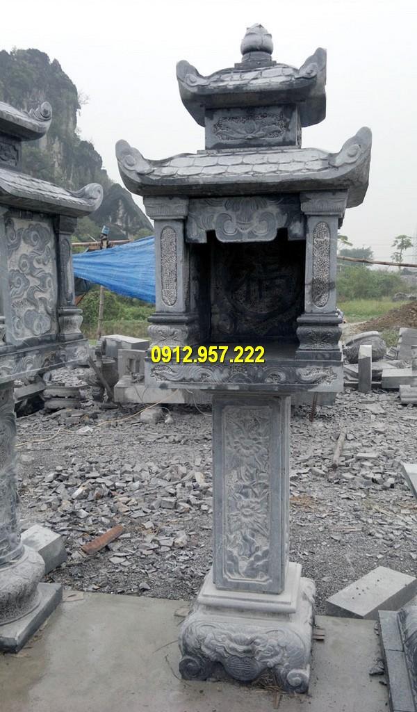 Thi công am thờ ngoài trời ở Lào Cai