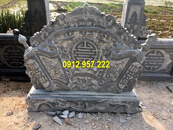 Thi công mẫu cuốn thư đá tại Cao Bằng