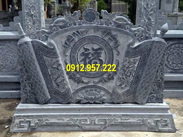 Bán bức bình phong lăng mộ ở Hà Nam