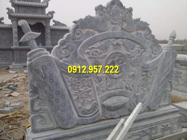 Chế tác bình phong lăng mộ tại Hà Nội