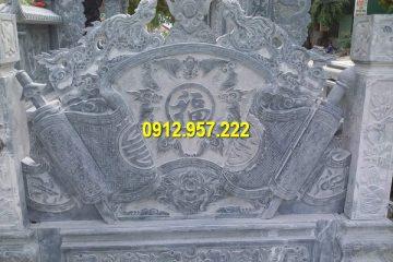 Giá cuốn thư ở lăng mộ tại Hải Phòng