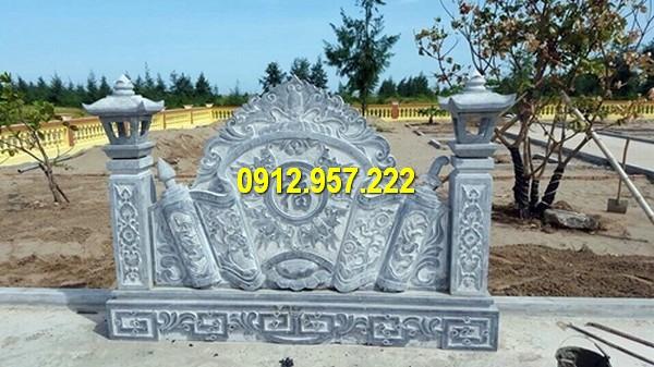 Làm cuốn thư lăng mộ đá ở Hưng Yên