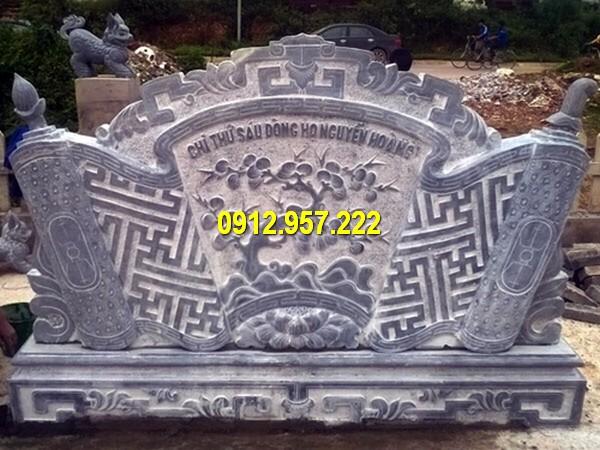 Bán lan can bình phong đá tại Lạng Sơn