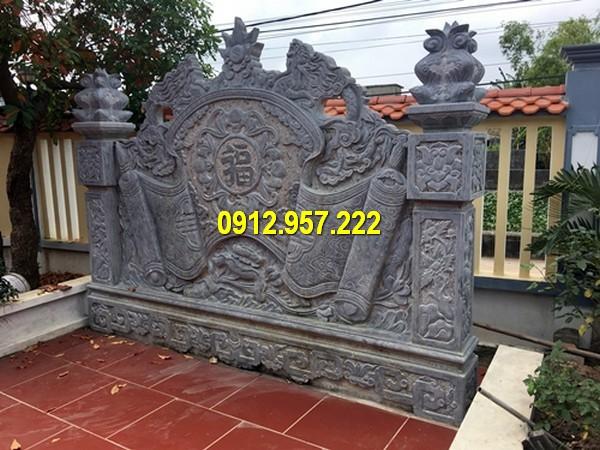 Bán mẫu bình phong đá đẹp ở Điện Biên