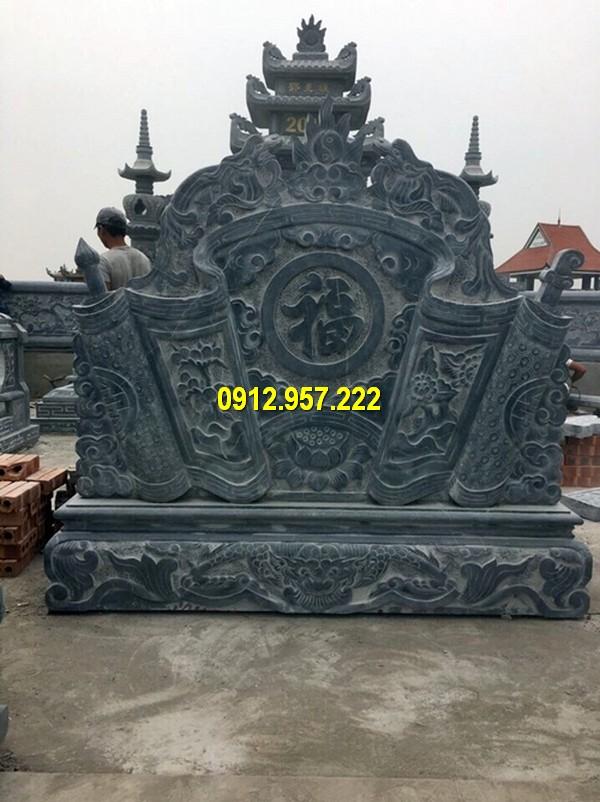 Chế tác kích thước cuốn thư đá tại Hoà Bình