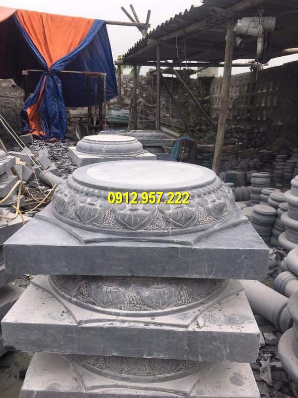 Thi công lắp đặt bán đá tảng kê cột nhà ở Khánh Hòa