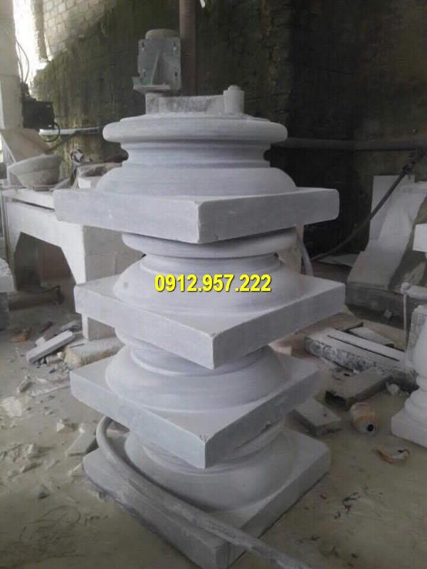 Thi công lắp đặt bán đá kê cột gỗ ở Bình Thuận