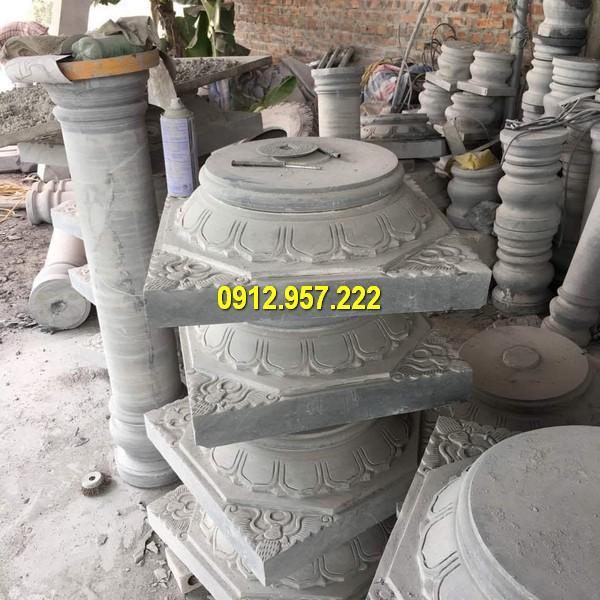 Thi công lắp đặt bán đá kê cột nhà tại Kon Tum