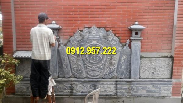 Làm bình phong đá tại Bình Thuận