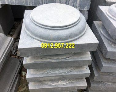 Thi công lắp đặt bán mẫu chân cột đá tại Bắc Kạn