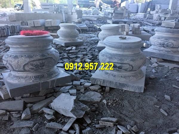 Thi công lắp đặt bán đá kê chân cột nhà gỗ tại Quảng Ninh