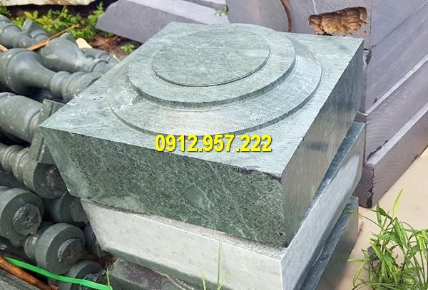 Thi công lắp đặt bán đá kê chân cột tại Ninh Bình