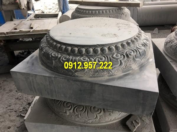 Thi công lắp đặt bán đá tảng chân cột tại Điện Biên