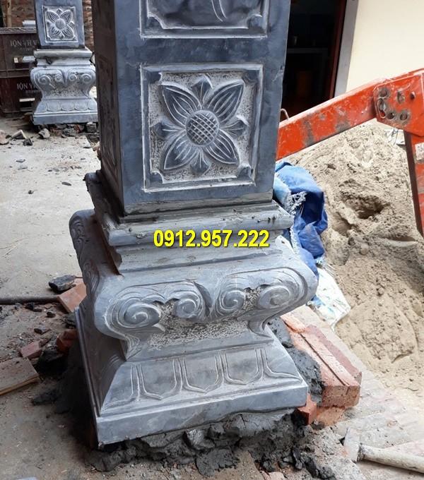 Thi công lắp đặt bán đá tảng kê chân cột tại Hà Giang