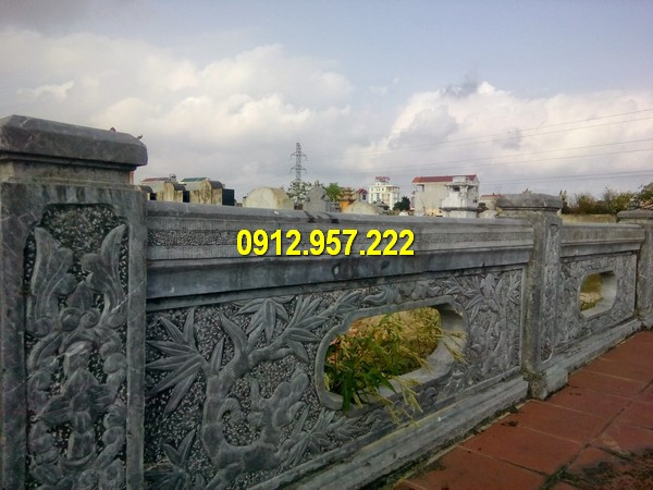 Bán hàng rào đá đẹp ở Điện Biên