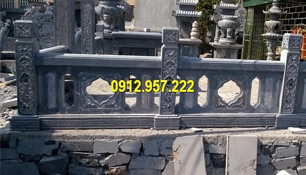 Bán lan can đá nhà thờ họ ở Quảng Ninh
