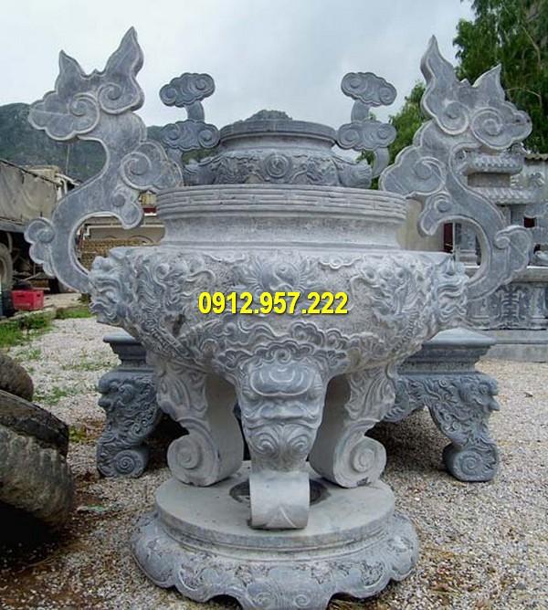Đá mỹ nghệ Thái Vinh nhận thi công lắp đặt lư hương, bát hương đá tại miền Nam