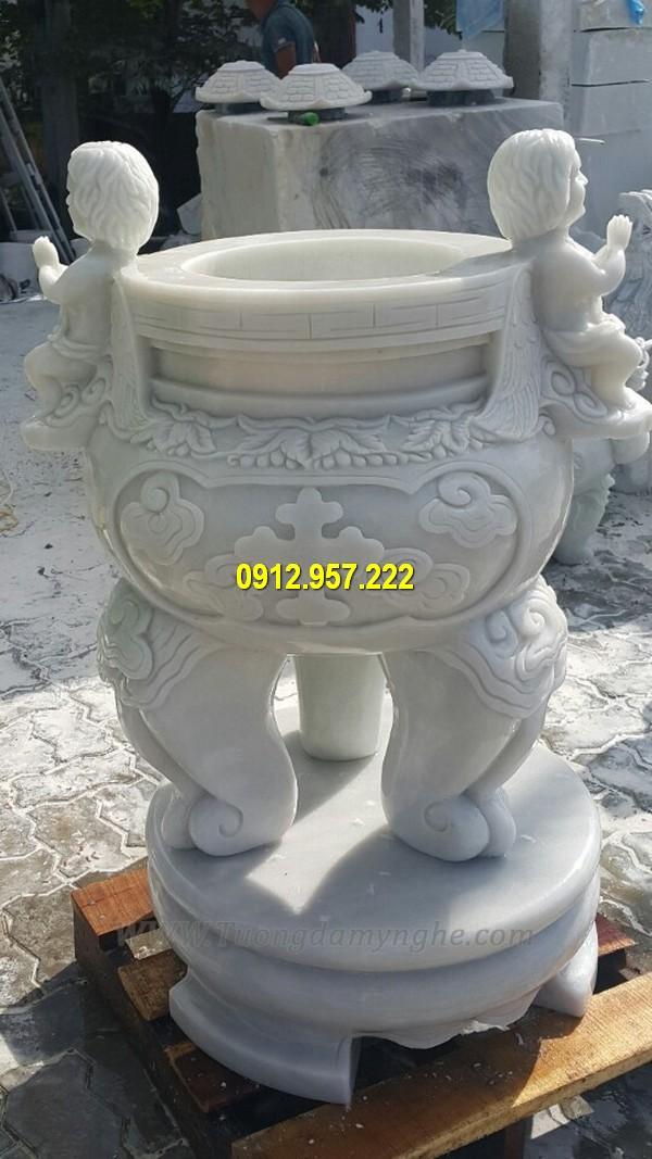 Giá lư hương đá đẹp tại Bình Thuận