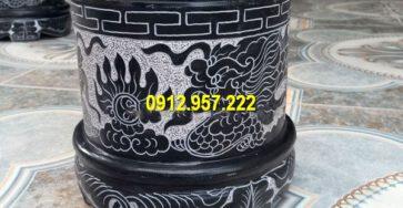 Thi công bát nhang bằng đá tại Cao Bằng