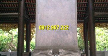 Ý nghĩa của bia đá phong thuỷ trong đời sống người Việt