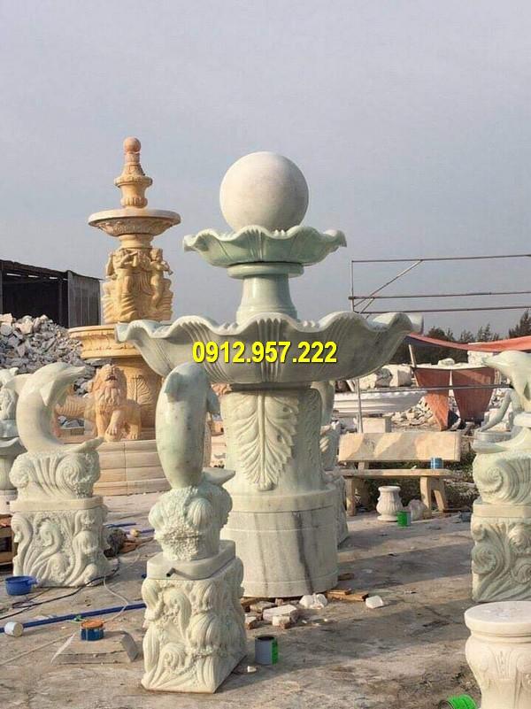Đài phun nước mẫu mã đa dạng, giá thành rẻ tại Đá mỹ nghệ Thái Vinh