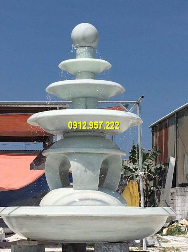 Đài phun nước bằng đá trắng