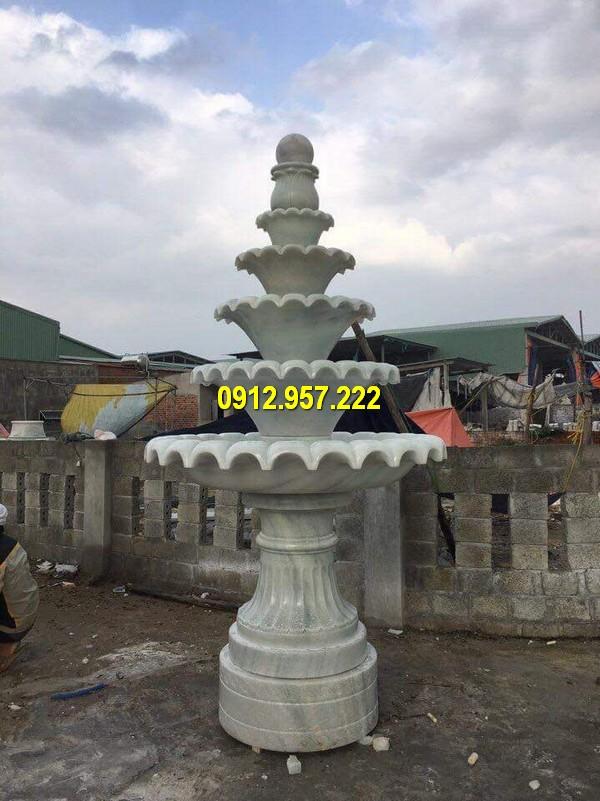 Mẫu thiết kế tháp phun nước biệt thự đẹp
