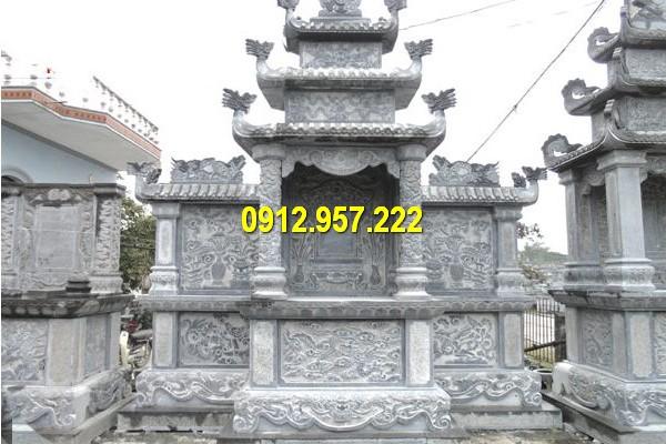 Thiết kế lăng thờ đá trắng chất lượng cao