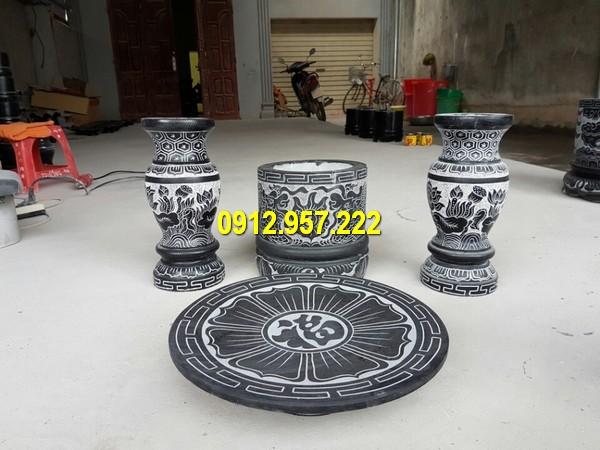 Đá mỹ nghệ Thái Vinh chế tác, bán lư hương đá nhỏ, bát hương đá nhỏ giá rẻ uy tín