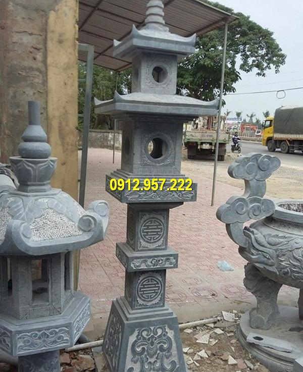 Mẫu đèn đá thờ cúng đặt tại nhà thờ, đình chùa, lăng mộ
