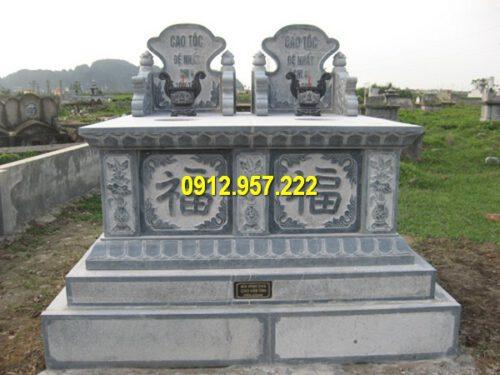 Giá mộ đá đôi Ninh Bình bằng đá tự nhiên bao nhiêu tiền?