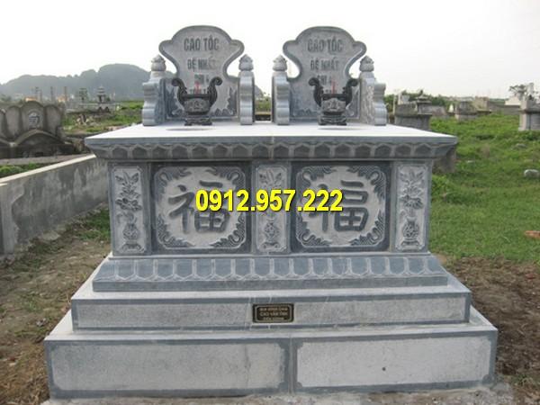 Giá mộ đá đôi – Báo giá mộ đá đôi đẹp, mộ đôi bằng đá Ninh Bình