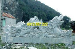 Giá tượng rồng bằng đá xanh tại Đá mỹ nghệ Thái Vinh