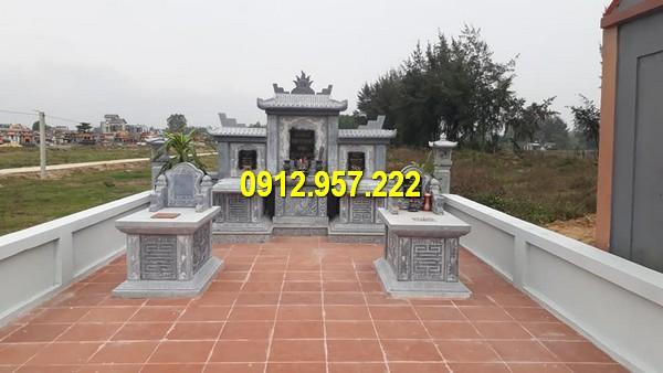 Đá mỹ nghệ Thái Vinh thi công, xây dựng làm khu lăng mộ đá Ninh Vân chất lượng cao